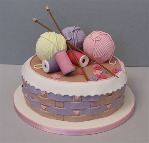 knitted birthday cake pattern knitting basket cake ideas and designs