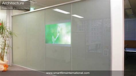 smart glass sfi privacy glass project installations youtube