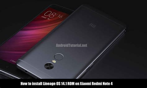 tutorial xiaomi redmi note how to install lineage os 14 1 rom on xiaomi redmi note 4