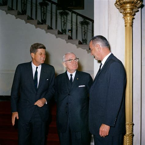 vice president lyndon baines johnson living among the kennedys books luncheon with former president harry s truman hst 1