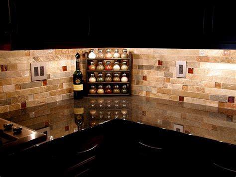 kitchen with stone backsplash backsplash tile best flooring choices