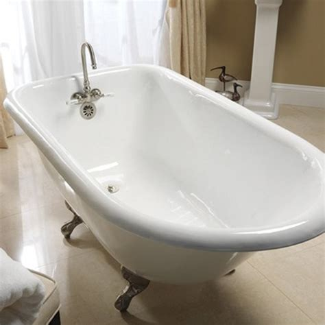 60 inch bathtub barclay 60 inch cast iron roll top clawfoot tub traditional bathtubs by hayneedle