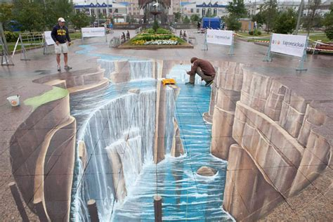 3d paintings the wallpapers 3d street painting