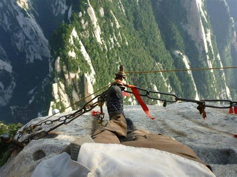 the most dangerous the most dangerous hiking trail china feel the planet
