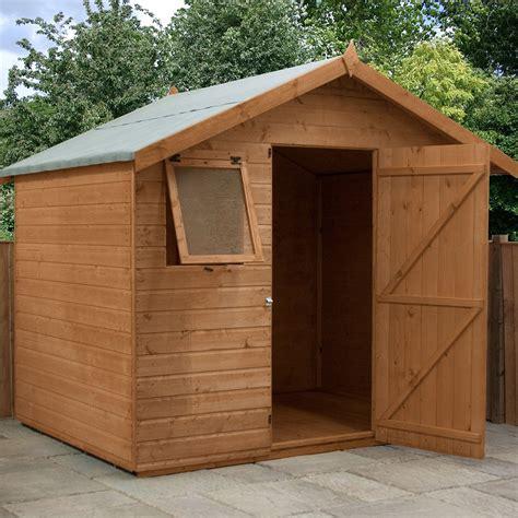mercia premium shiplap shed  single door    elbec