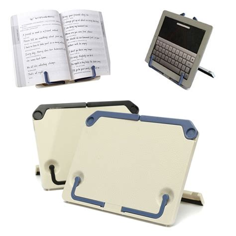 book stand for desk portable folding book stand reading desk documents holder
