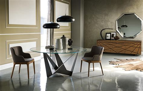 Cattelan Italia | skorpio round dining tables from cattelan italia