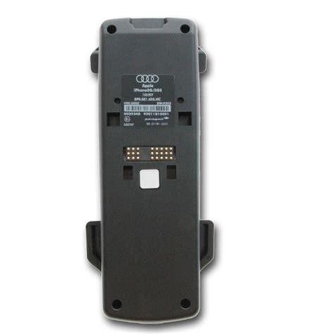 Handyadapter Audi by Audi Handyadapter Ladeschale Iphone 3 3g 3gs 8p0 051 435