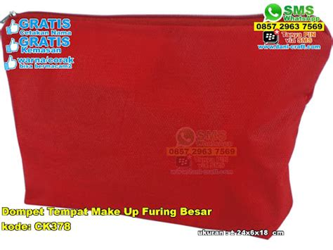 Tas Make Up Dompet tas make up keropi souvenir pernikahan