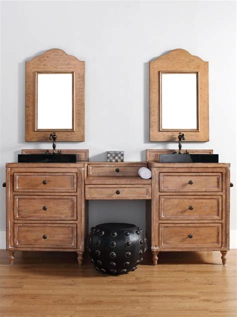 52 inch double sink bathroom vanity 52 74 quot copper cove double sink vanity traditional