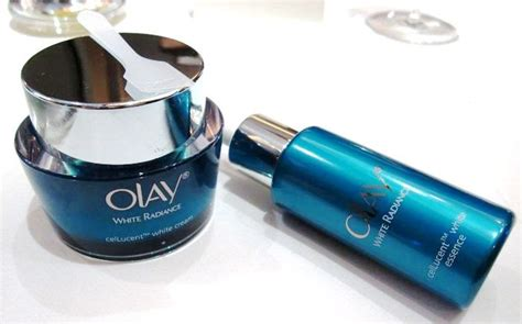 Olay White Radiance Cellucent Restoring dan makeup by locolola product review olay white