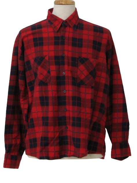 Flannel Fila 90s pattern shirts t shirt design database