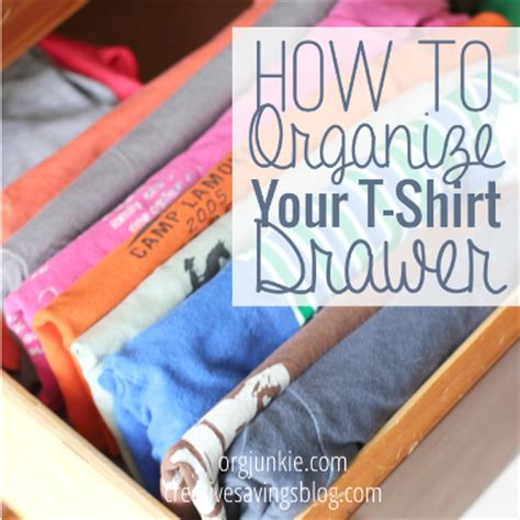 T Shirt Drawer Organization by How To Organize Your T Shirts