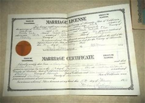 Alameda county marriage records online