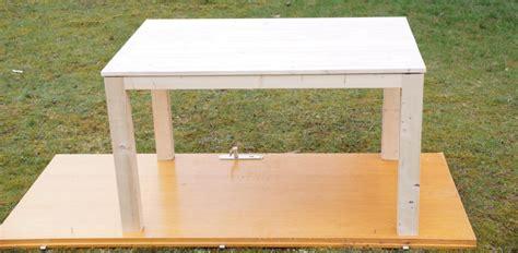 tisch mit feuerstelle selber bauen esstisch selber bauen f 252 r unter 60 bauanleitung