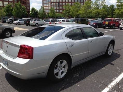 2008 silver dodge charger buy used 2008 metallic silver dodge charger 3 5l v6 engine