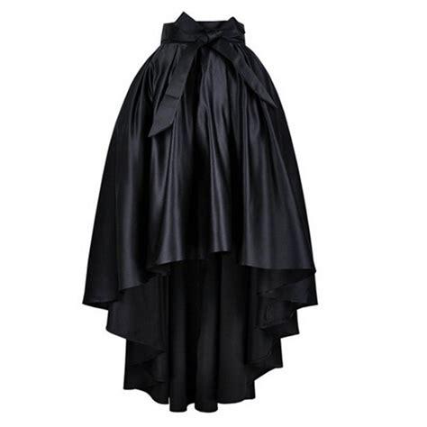 7 Black Skirts by Black Satin Skirt 2017 Autumn 7xl Plus Size Saia