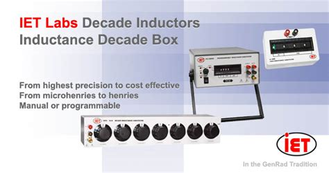 what is a decade inductor what is a decade inductor 28 images decade induttiva inductive decade box inductance