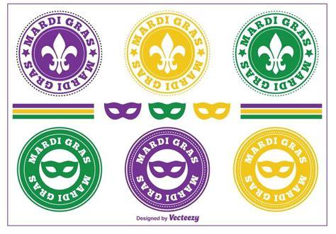 gras pattern ai mardi gras sts badges download free vector art