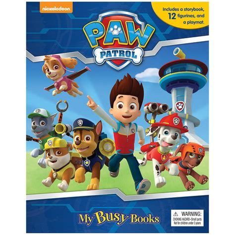 Buku Anak Impor Paw Patrol My Busy Book Original Termurah paw patrol my busy book books activity book