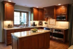 Cherry Cabinet Kitchen Cherry Cabinet Kitchen Remodel Northern Home Improvement