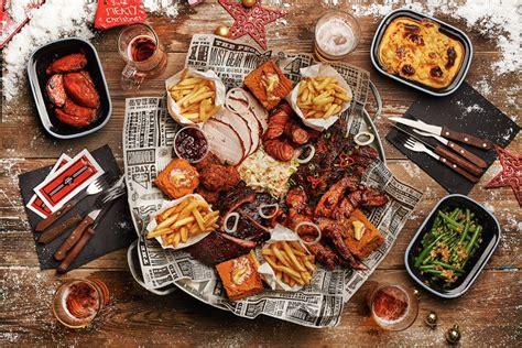 bq christmas s true barbecue feast s true barbecue