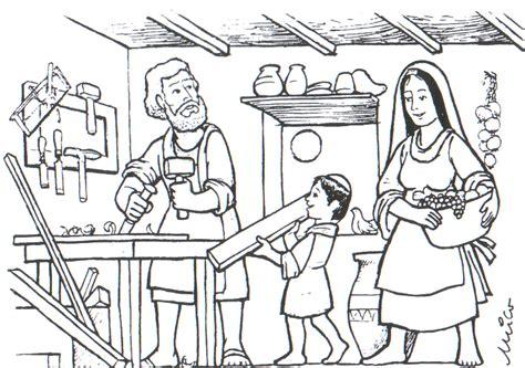 dibujos para colorear de san jose dibujos de san jos 233 para pintar colorear im 225 genes