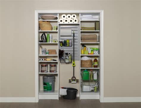 utility closet organizers utility closet contemporary closet by