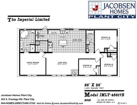 100 jacobsen modular home floor plans floor plans