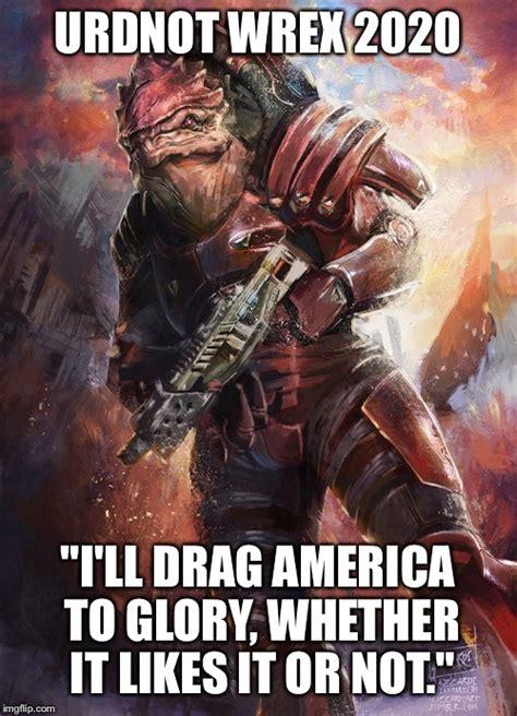 Krogan Meme - the cynical supporting krogan urdnot wrex thread new
