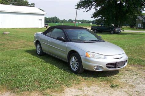 2001 Chrysler Sebring Engine For Sale by Purchase Used 2001 Chrysler Sebring Convertible Needs