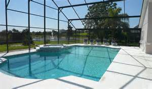 family villa with pool near disney magic kingdom universal studios