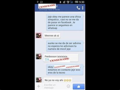 cmo conquistar a una mujer por chat psicologa caroline como seducir a una mujer por facebook conversaci 243 n real