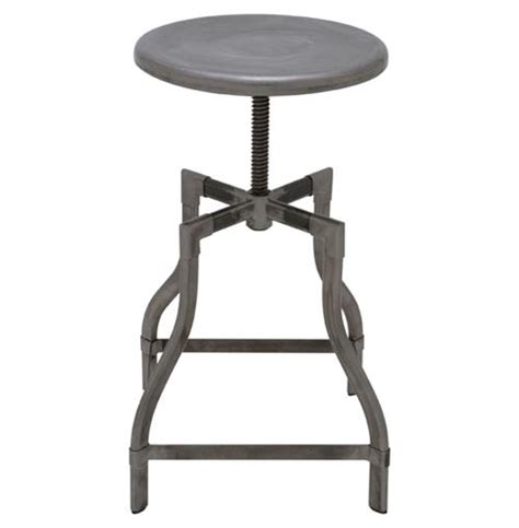 adjustable outdoor bar stools quinley industrial loft outdoor safe adjustable height