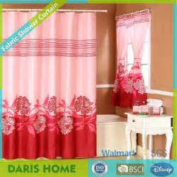 shower curtain with matching window curtain bathroom
