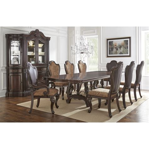 dining room groups steve silver angelina formal dining room group wayside