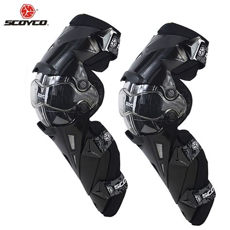 scoyco motorcycle motocross protector knee pads guards