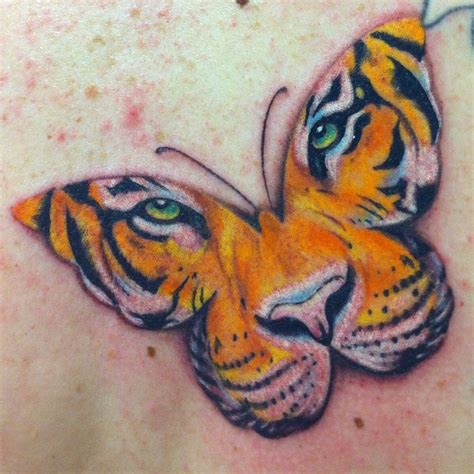 tiger butterfly tattoo butterfly tiger tiger butterfly