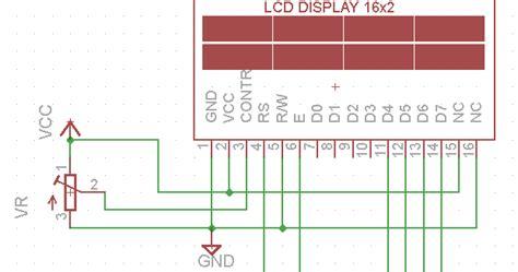Rustin 2 Pin Kualitas Bagus konfigurasi pin lcd 16x2 bagus prehan