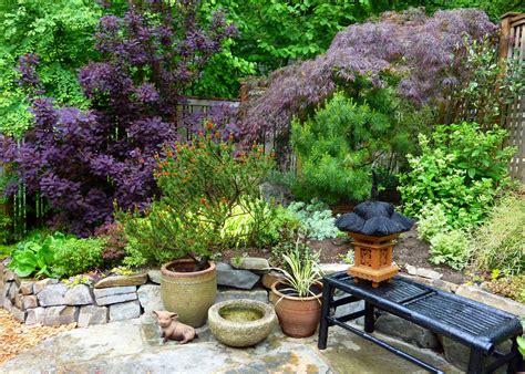 backyard sitting areas gardener s roost garden tour in seattle neighborhood