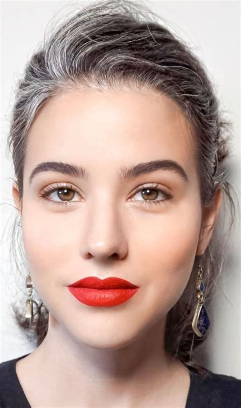 2714 best silver style images on Pinterest   Grey hair
