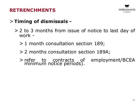 section 189 retrenchment labour employment seminar 2016