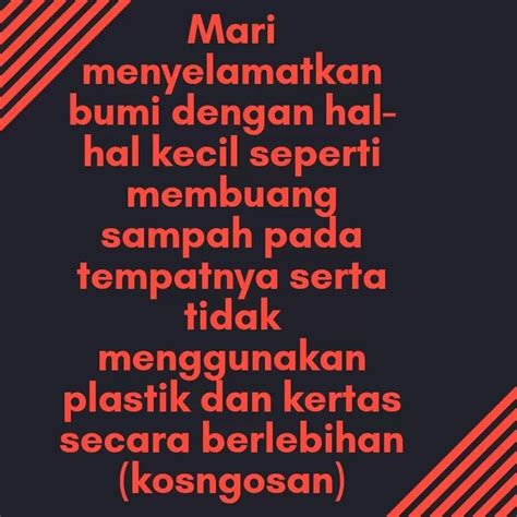 kata kata mutiara menjaga kebersihan lingkungan