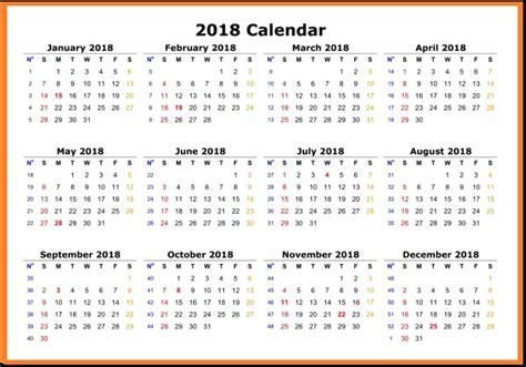 printable calendar 2018 single page calendar 2018 printable one page latest calendar