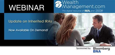 Watch a Complimentary Webinar on Recent Updates for Inherited IRAs   Ultimate Estate Planner