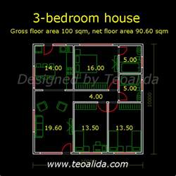 100 Sq Meters House Design by 100 Square Meters House Plan