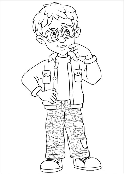 Fireman Sam Coloring Pages Fireman Sam Pictures To Print