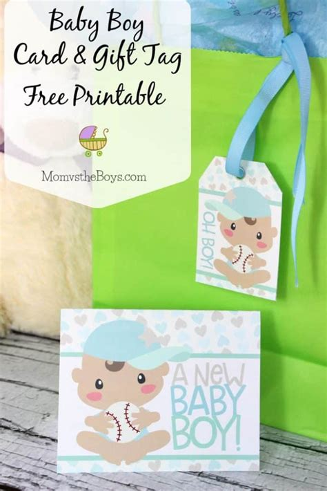 Printable Baby Shower Gift Tags by Baby Shower Card And Gift Tag Free Printable Vs
