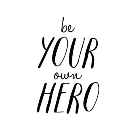 design hero meaning be your own hero tattoo design