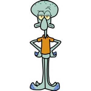 Squidward tentacles polyvore